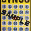 ◆21日発表のBINGOカード配布しています◆